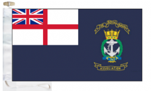 Royal Naval Association Ensign Courtesy Boat Flags (Roped and Toggled)